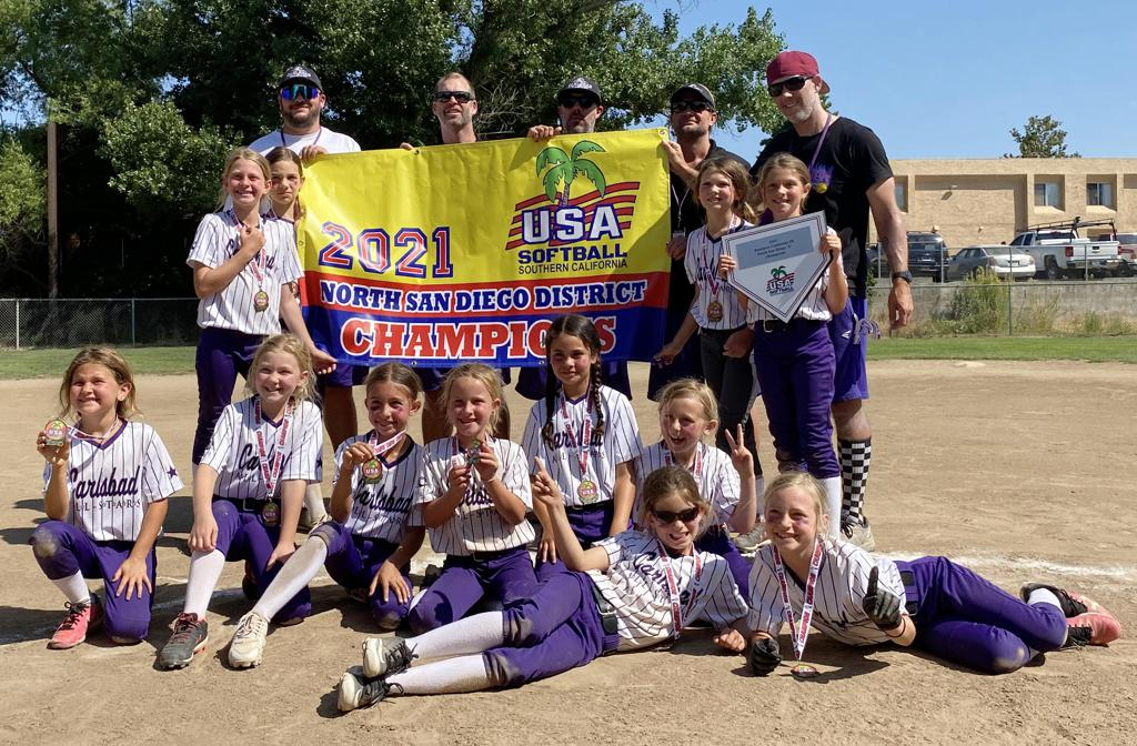 Congrats to Carlsbad 8U — 2021 North San Diego C District Champions! — Good Luck at State!