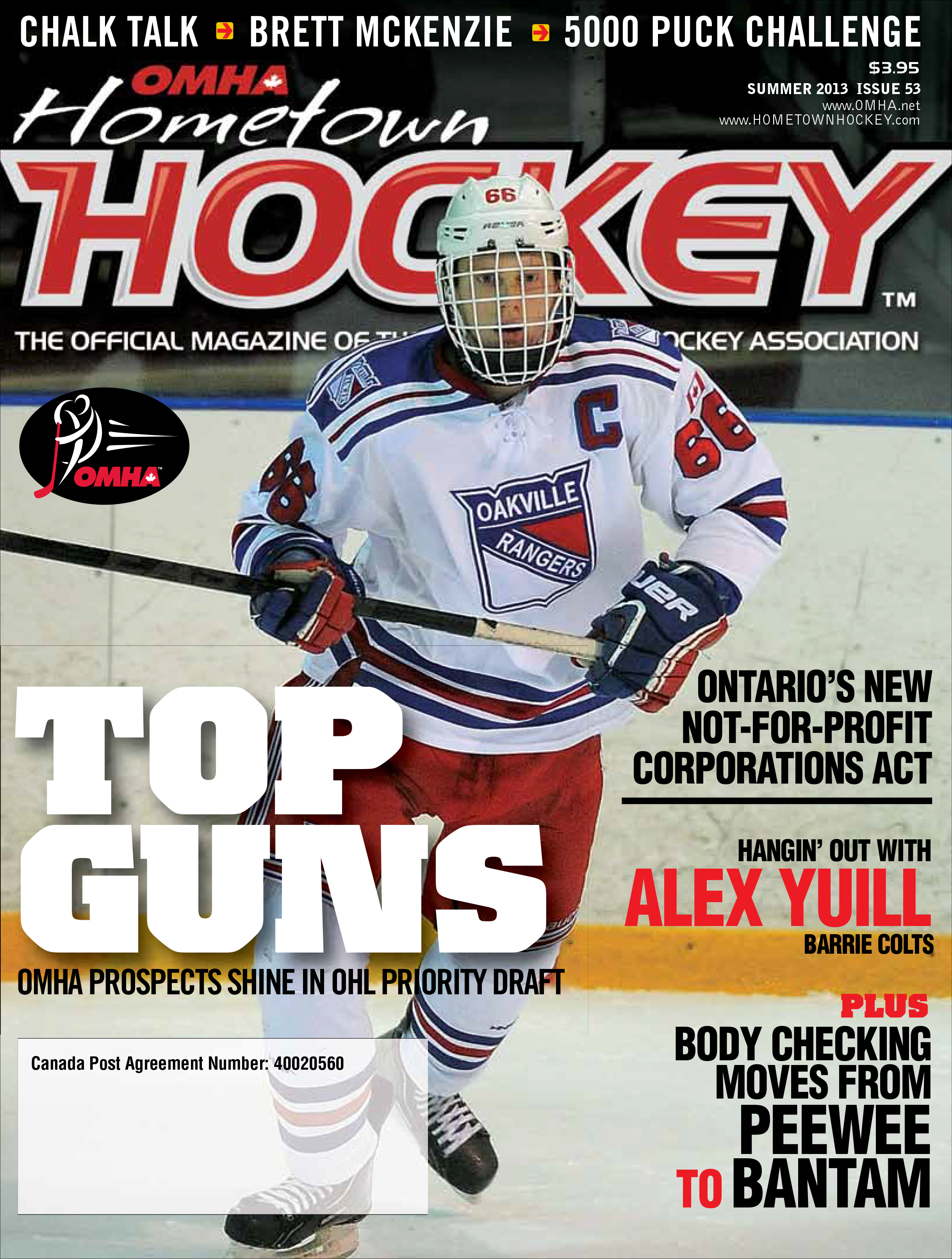OMHA Hometown Hockey Spring 2013