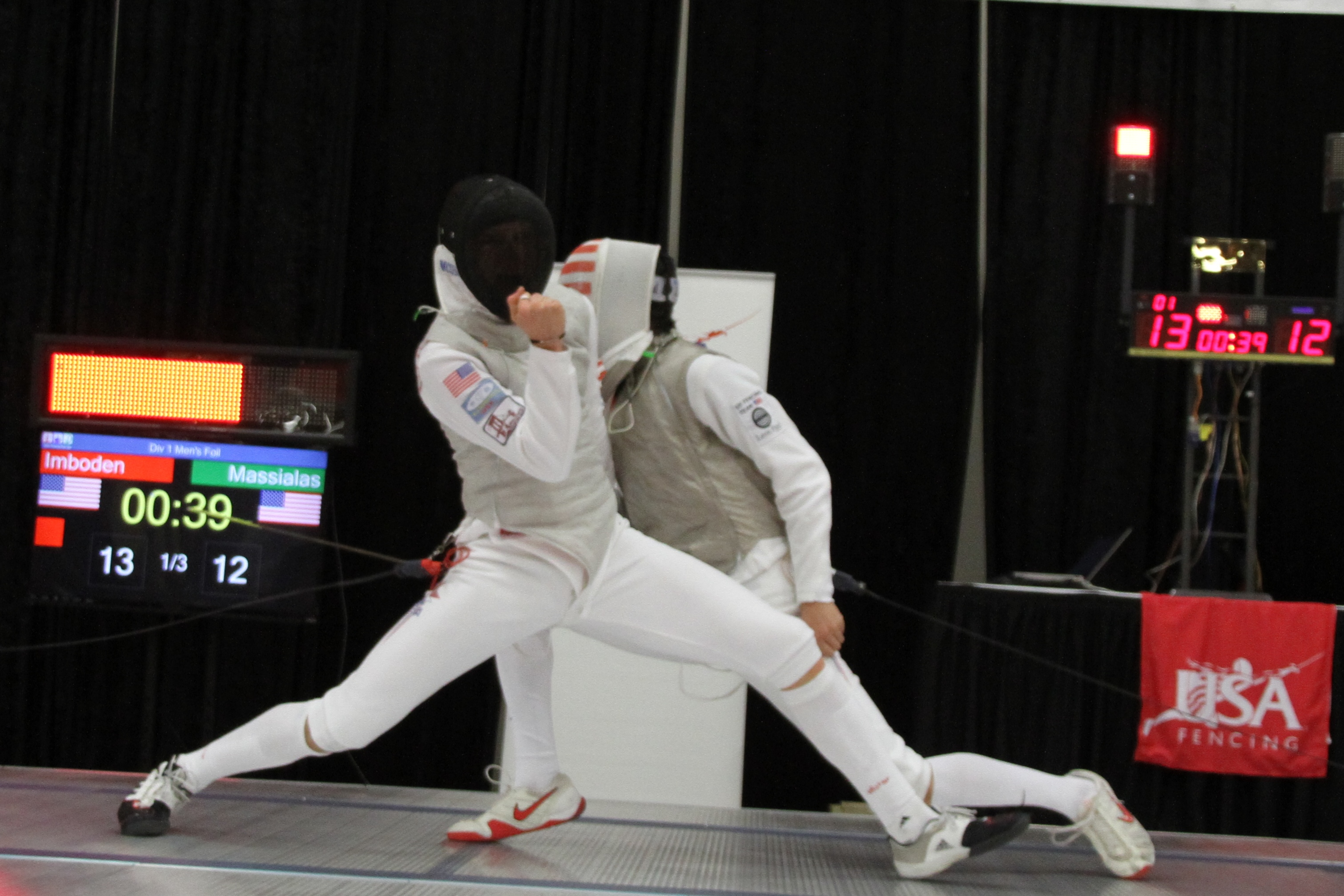 imboden single men 19-year-old foilist race imboden, a young phenom who will contend for one of  the top spots in london, puts in seven and a half hours of fencing and workouts.