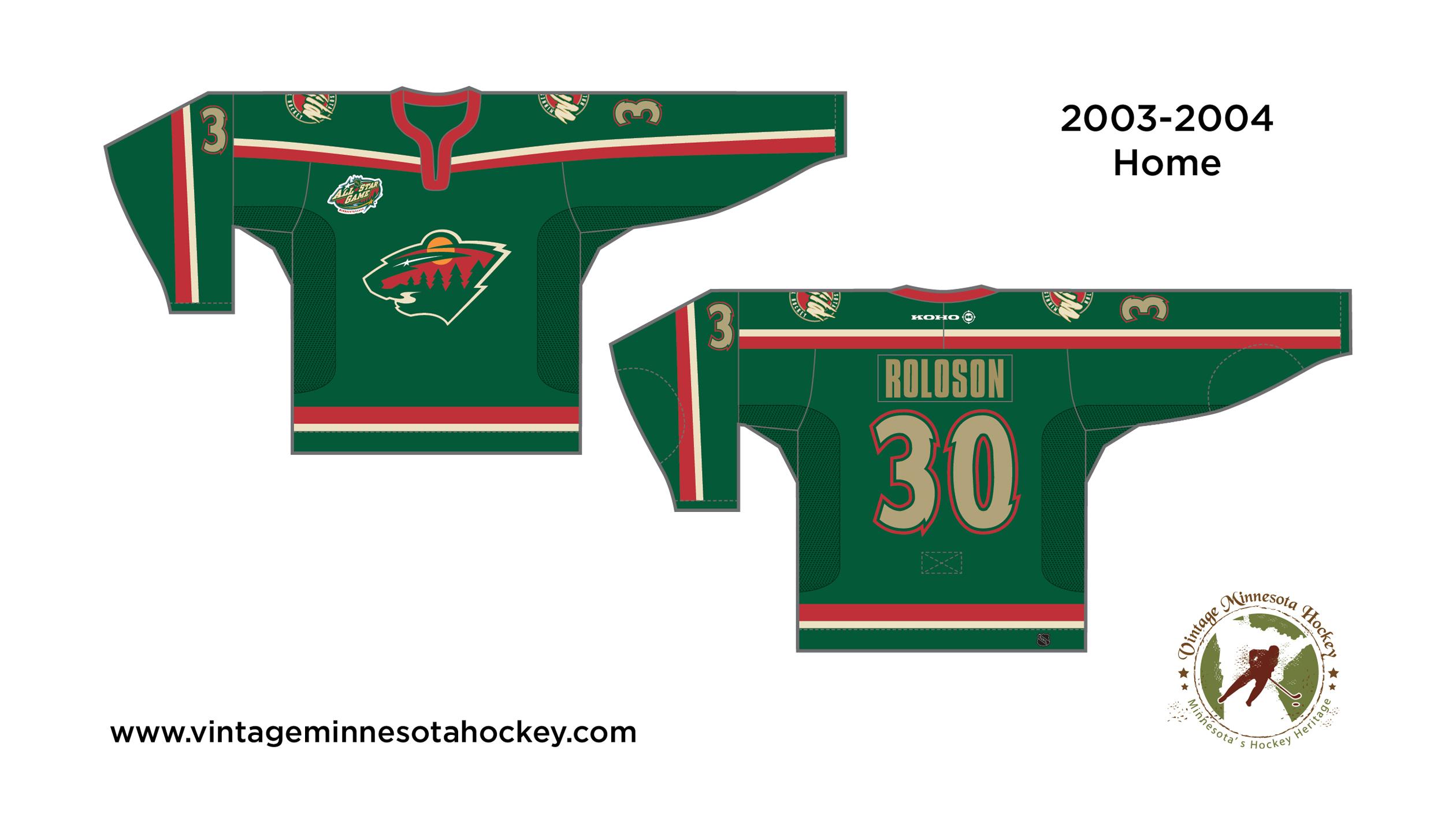 size 40 e7f0a b9da5 Minnesota Wild Uniform Evolution (2000-Present)