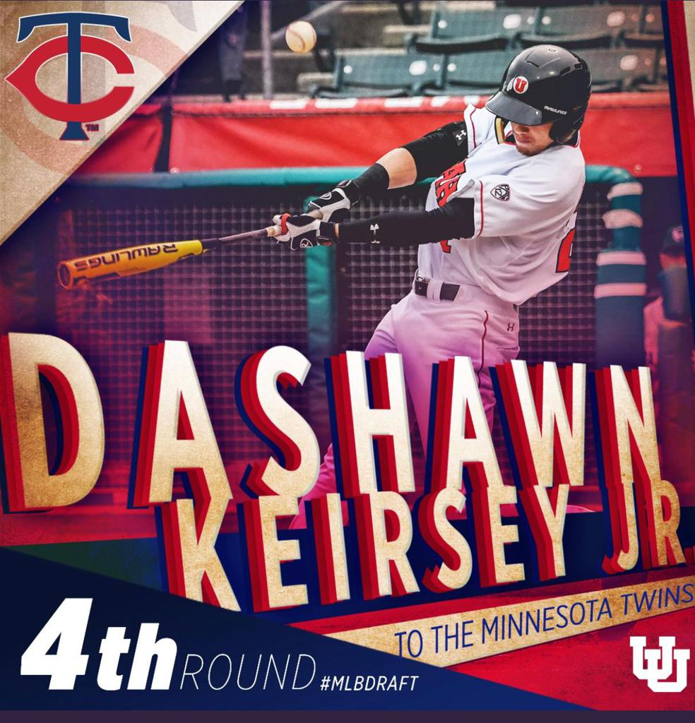 Congratulations to former CA Bear DaShawn Keirsey Jr. on being drafted by the Minnesota Twins