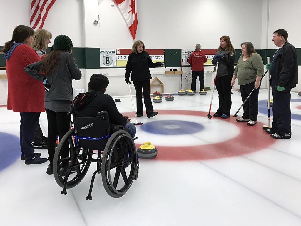 Learn to Curl session in action