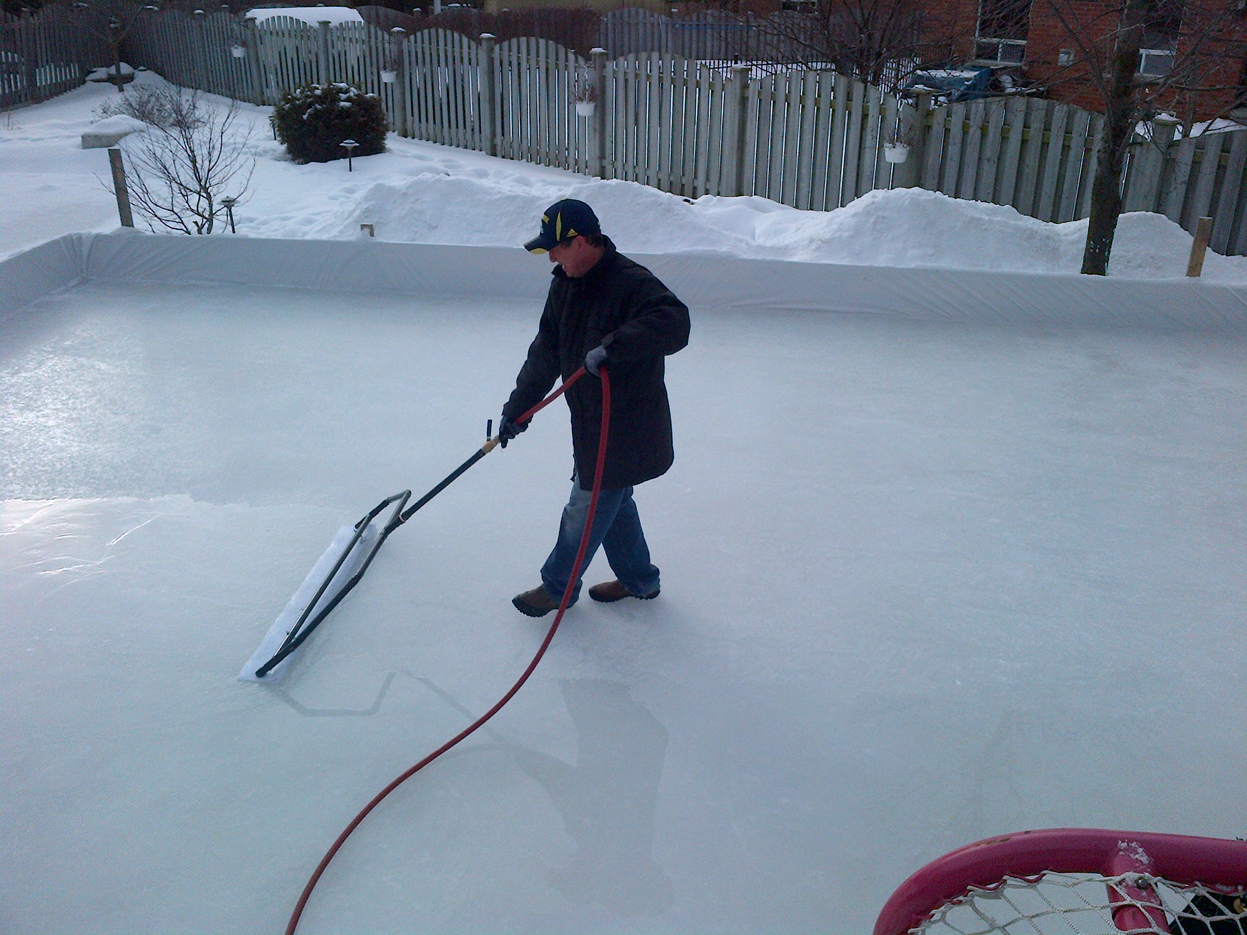 podcast how to build the ultimate outdoor rink