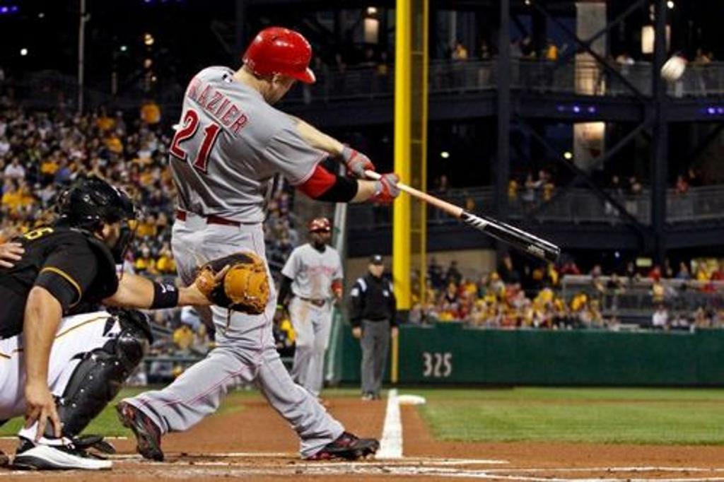 Todd Frazier hitting a bullet agaisnt Pittsburgh Pirates A.J. Burnett on 9/28/2012