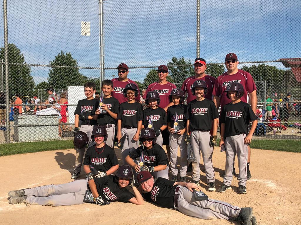 2nd place WSBL 9U AAA Championship
