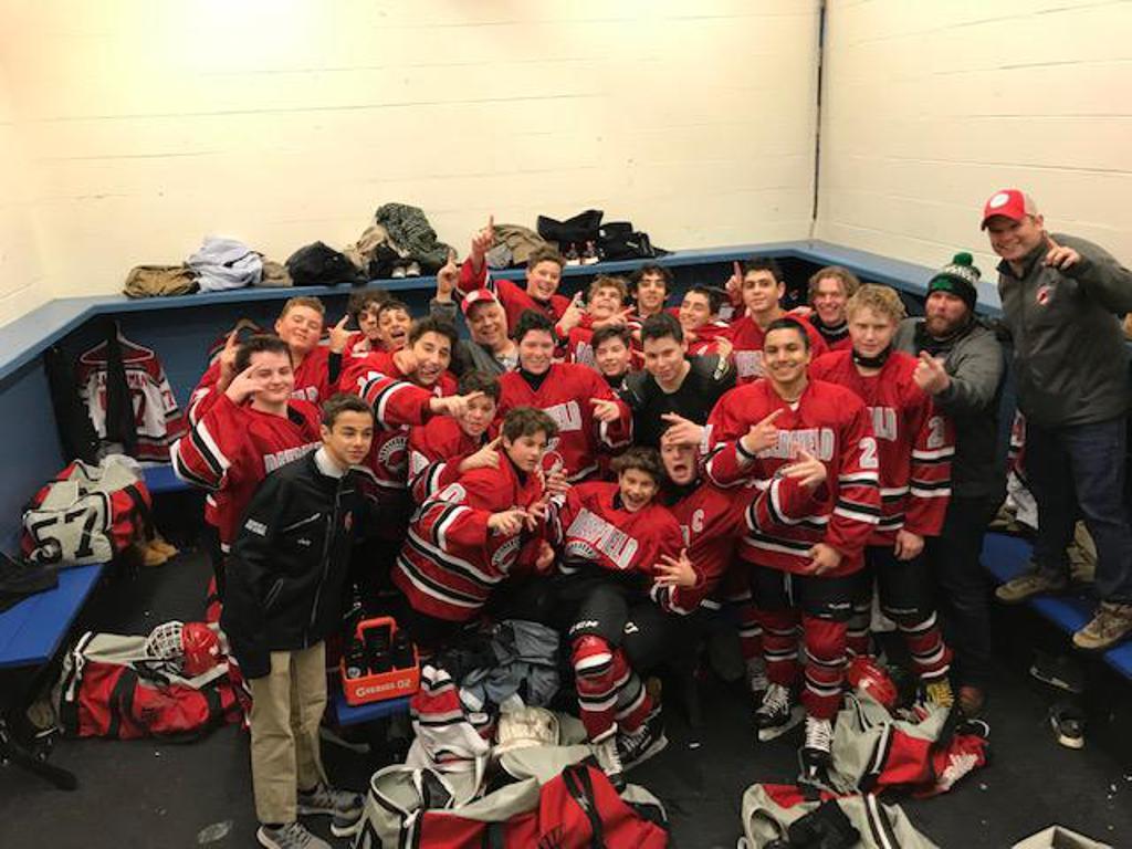 Final Regular Season Game 5-1 Win over Maine