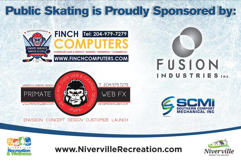 2018/2019 Public Skating Proudly Sponsored by: