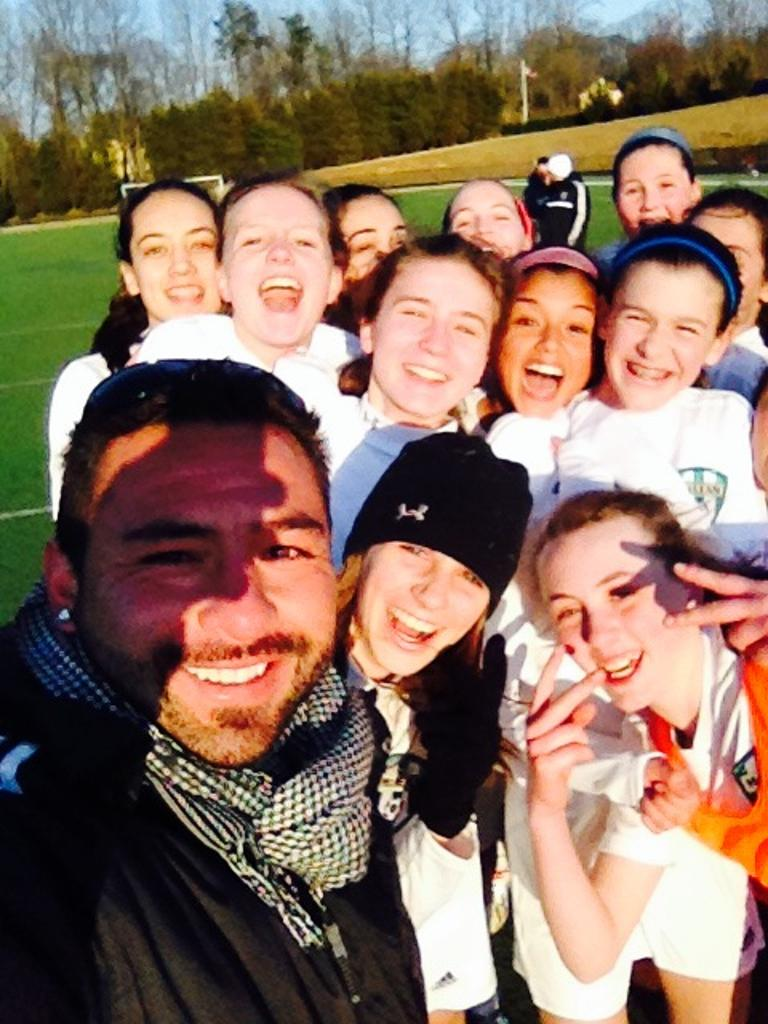 Liberty Cup Winners Selfie March 2014