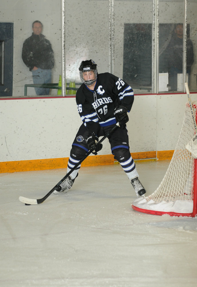 Carlo notched 47 points for a Thunderbirds team that won the Tier 1 Elite League championship in 2012-13. Contributed photo from Youth Sports Photography Network