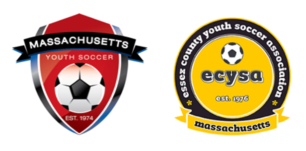 Massachusetts Youth Soccer and Essex County Youth Soccer Logos