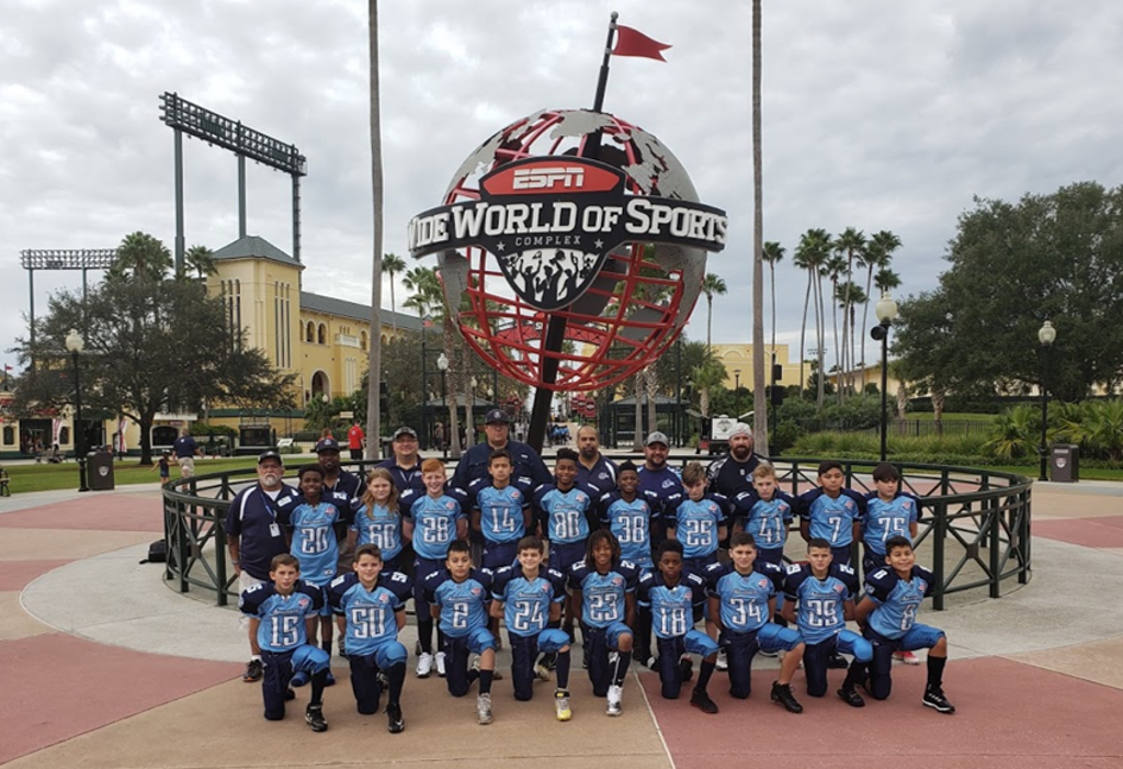 Argonauts Junior Pee Wee at ESPN Wide World of Sports
