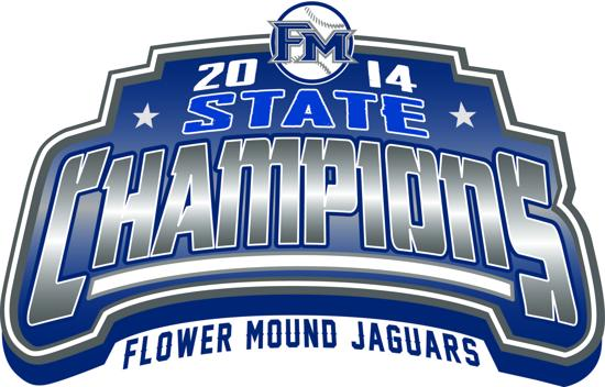 2014 Texas State Class 5A Championship Emblem