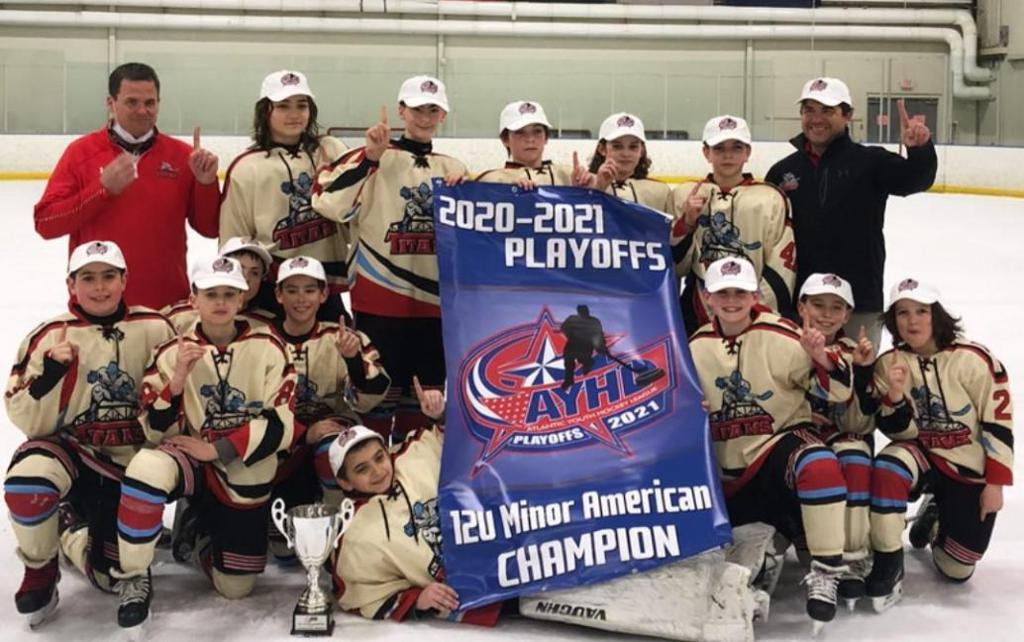 Titans U12 American team wins AYHL Championship