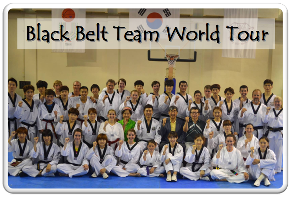 Black Belt Team World Tour