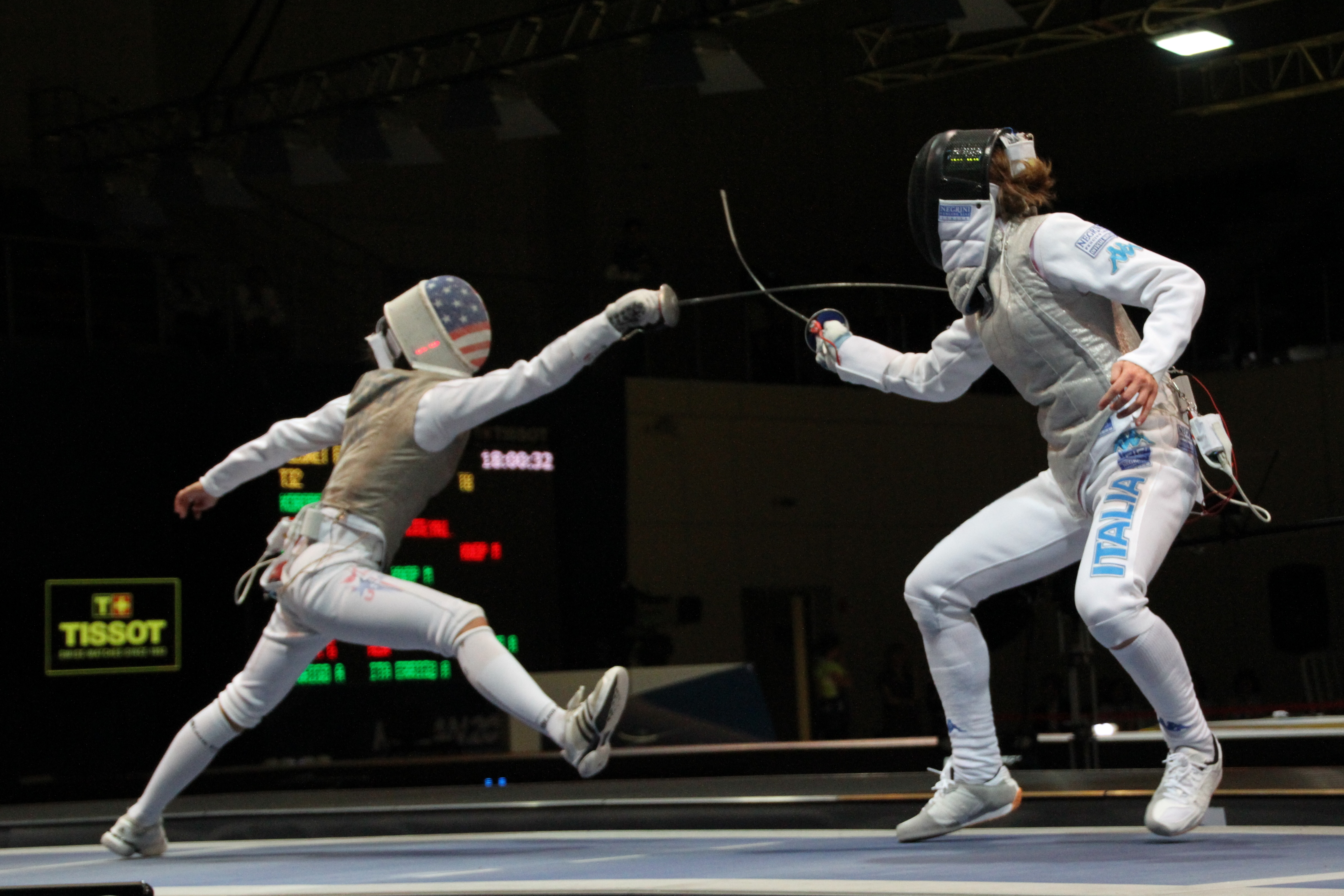 Lee Kiefer fencing