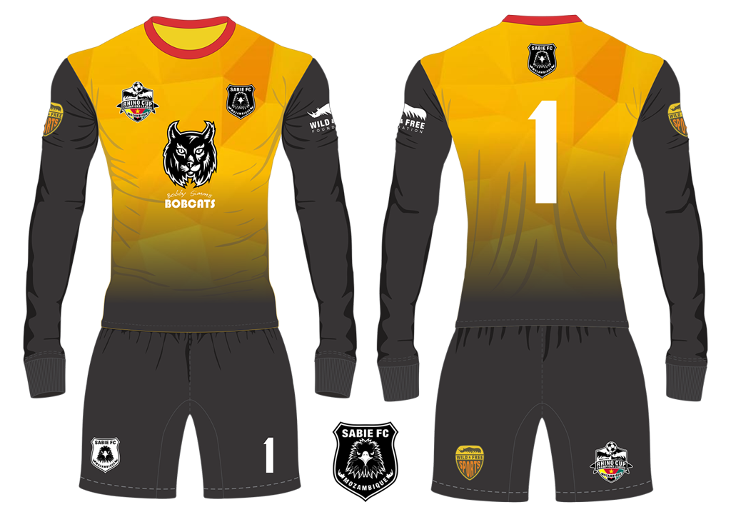Sabie FC Eagles Goalkeeper Kit RCCL 2019