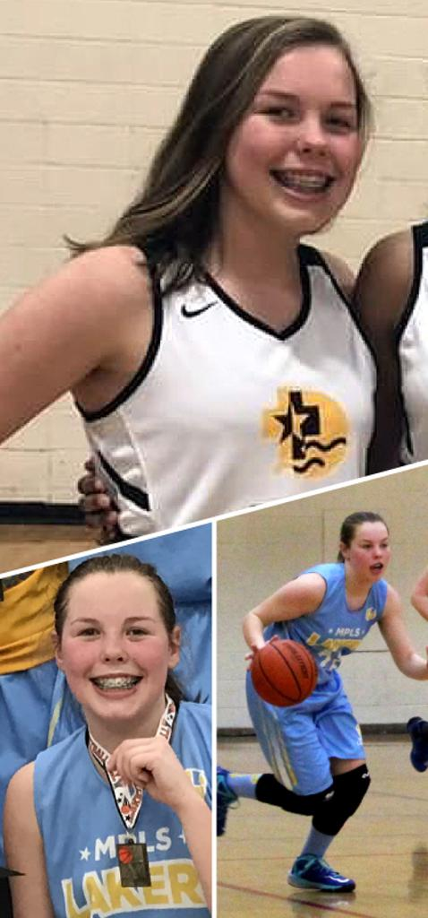 Ava Wood DeLaSalle High School Class of 2021  Mpls Lakers 2015-2017