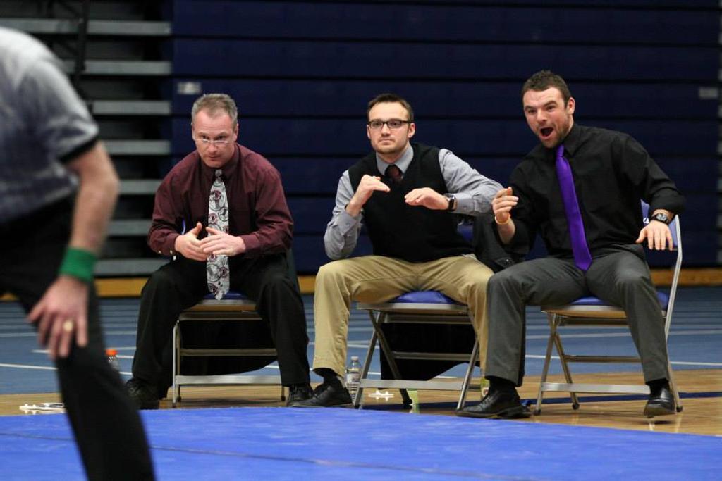 Falls wrestling coaches
