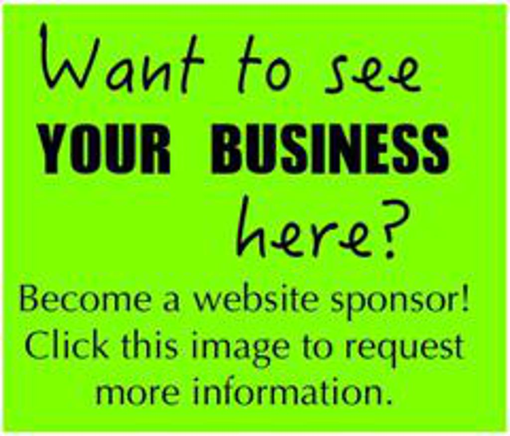 Want to be a Website Sponsor?