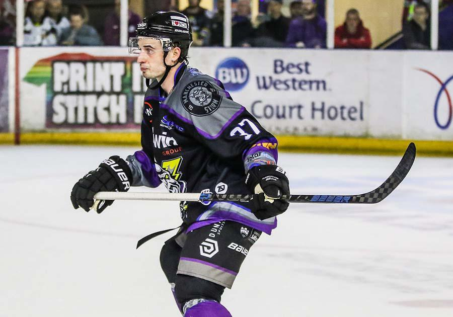 Mario Puskarich, who played for the Manchester Storm in the EIHL this past year, will coach with the Colorado Rampage this summer. Photo courtesy of the EIH