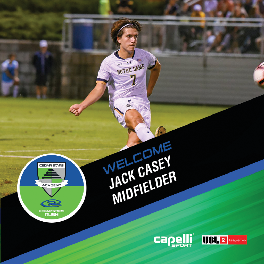 Jack Casey - Midfielder