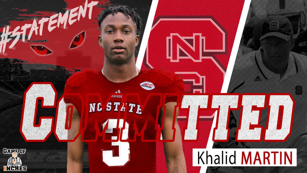 Khalid Martin of East Forsyth Commits to NC State