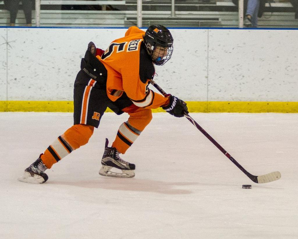 Hank Reed named Jr. Flyers Player of the Week for week ending February 3.