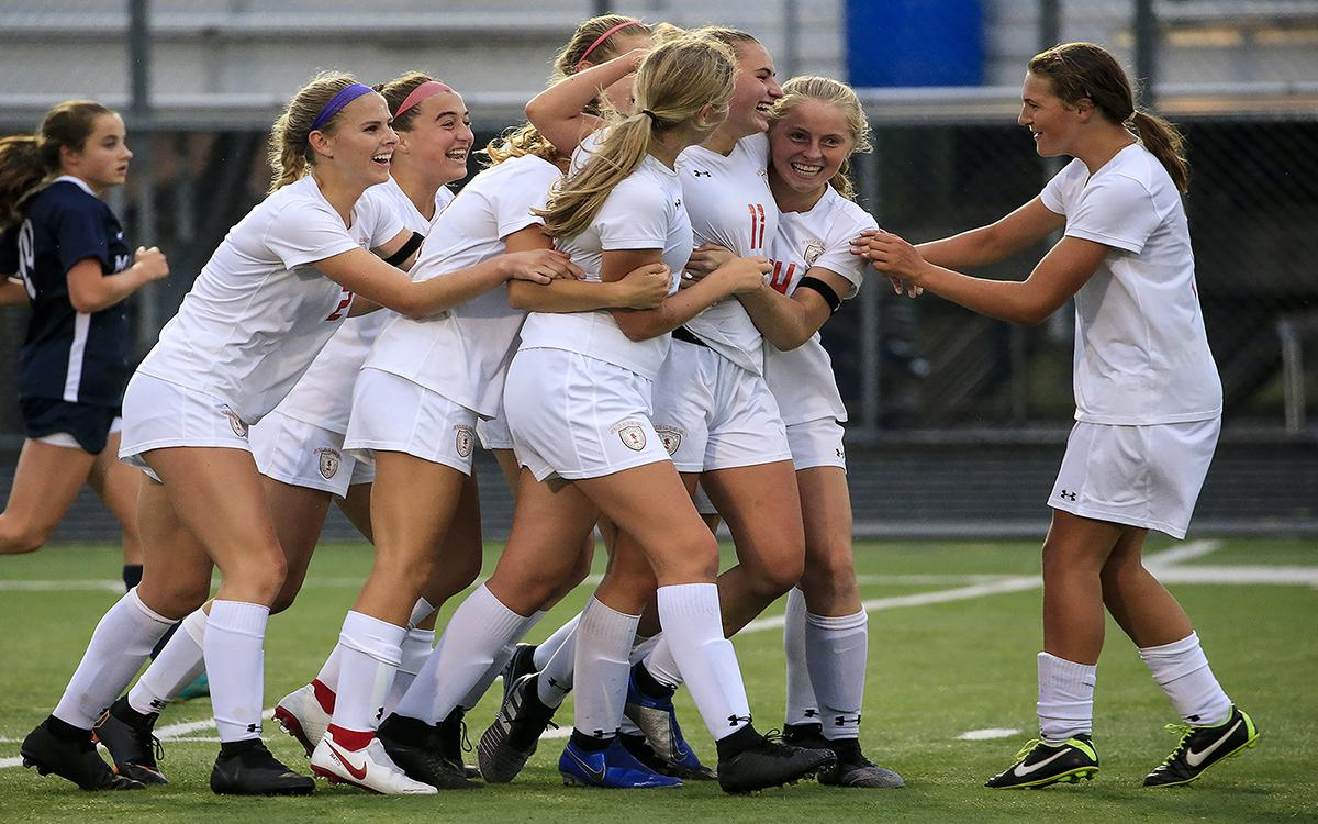 Benilde-St. Margaret's, one of the state's most dominant small-school girls' soccer programs, aims to get back to its winning ways in a Tuesday match with Chaska. Photo by Cheryl A. Myers, SportsEngine