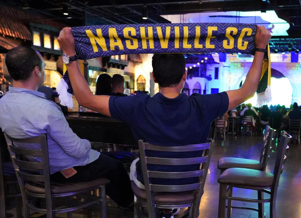 Nashville SC Fans Show Their Pride with a Scarf