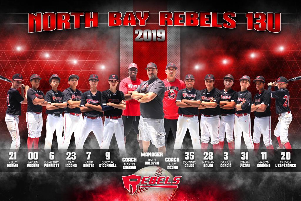 2019 North Bay Rebels 13u