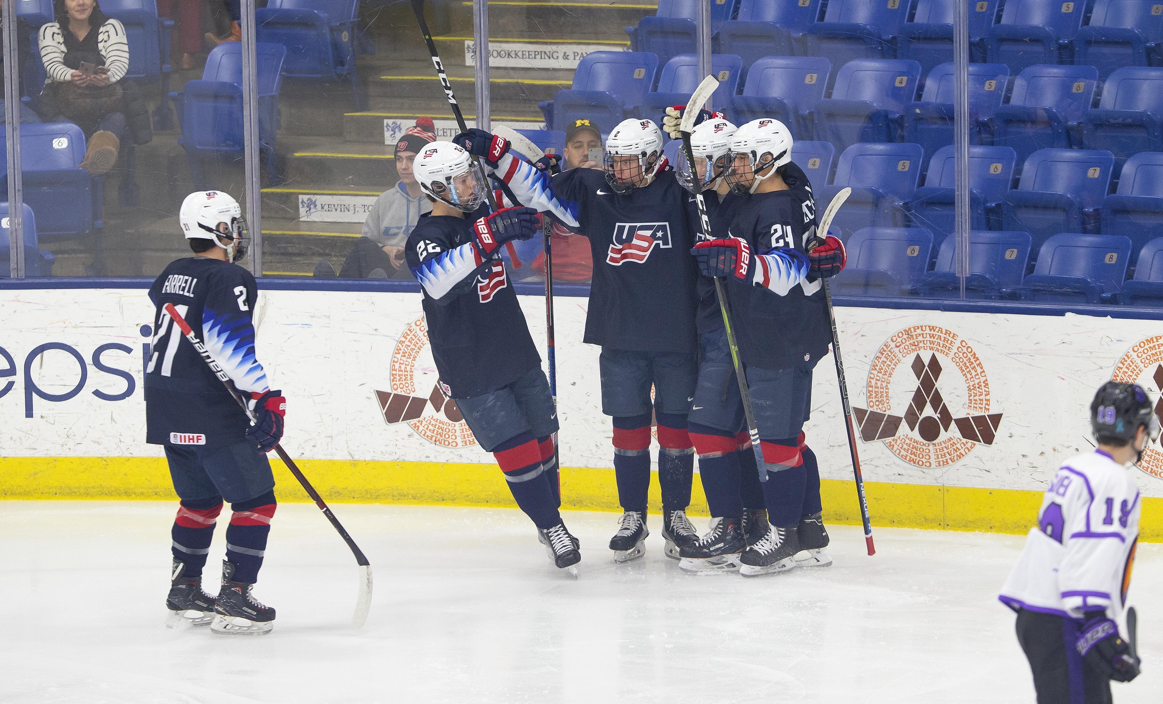USA Hockey National Team Development Program Notebook