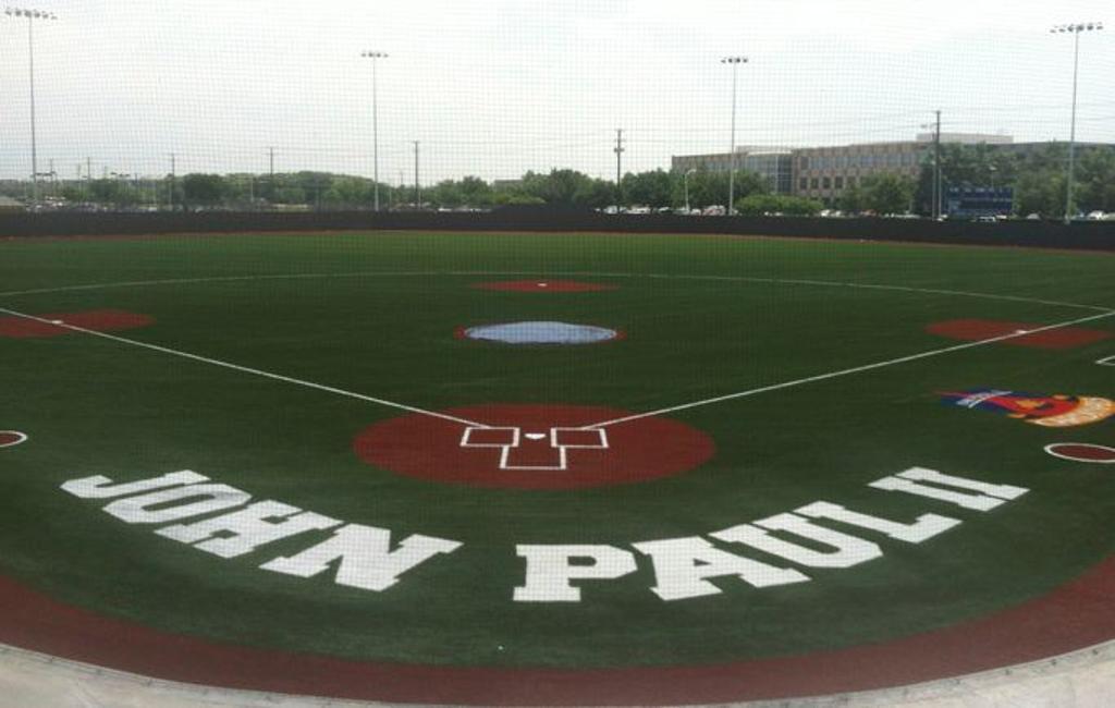 Image result for john paul ii baseball field