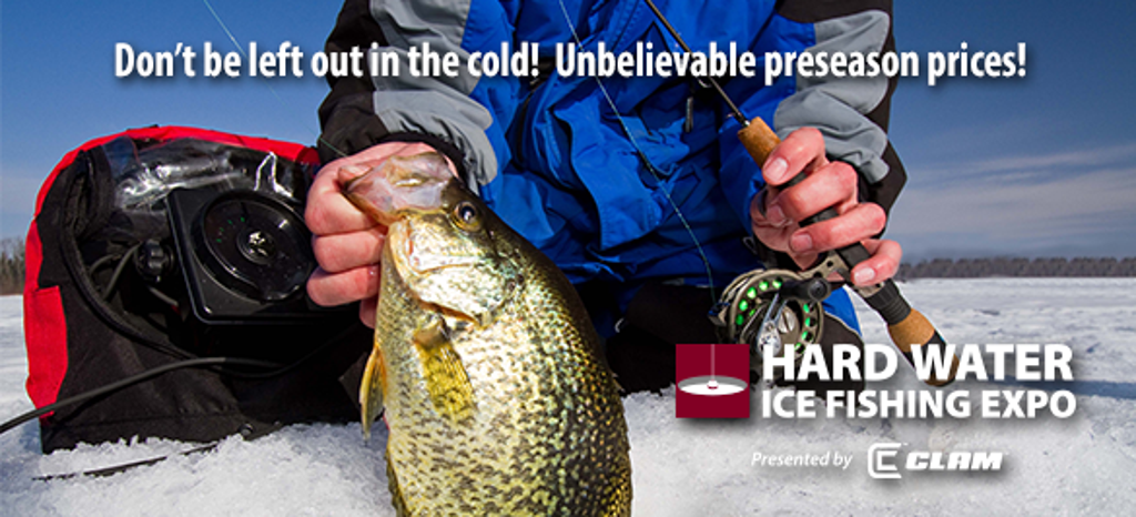 Facebook twitter e news for Ice fishing show