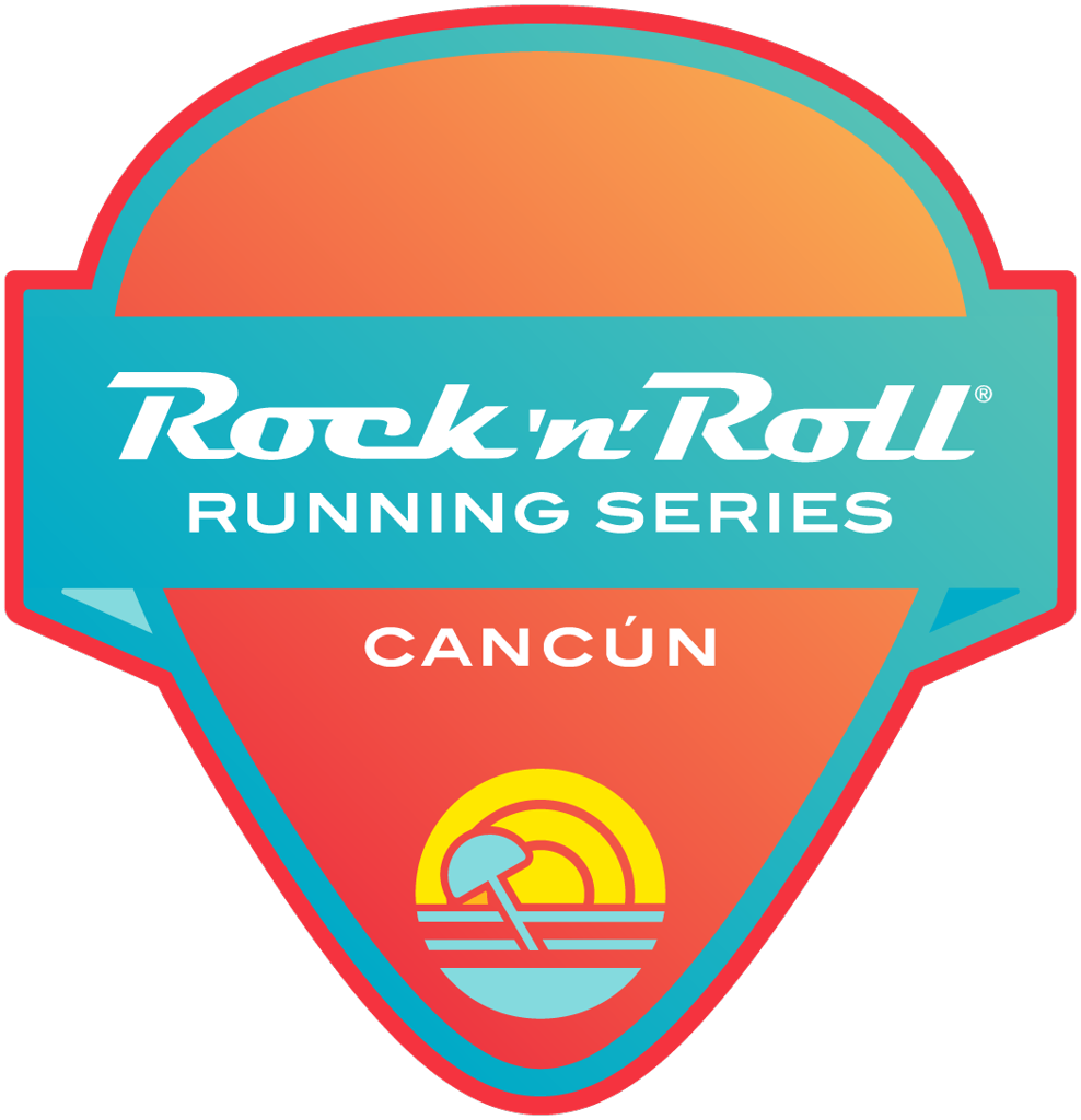 Rock 'n' Roll Cancún Guitar Pick logo