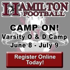 Hamilton Husky Varsity Football Camp