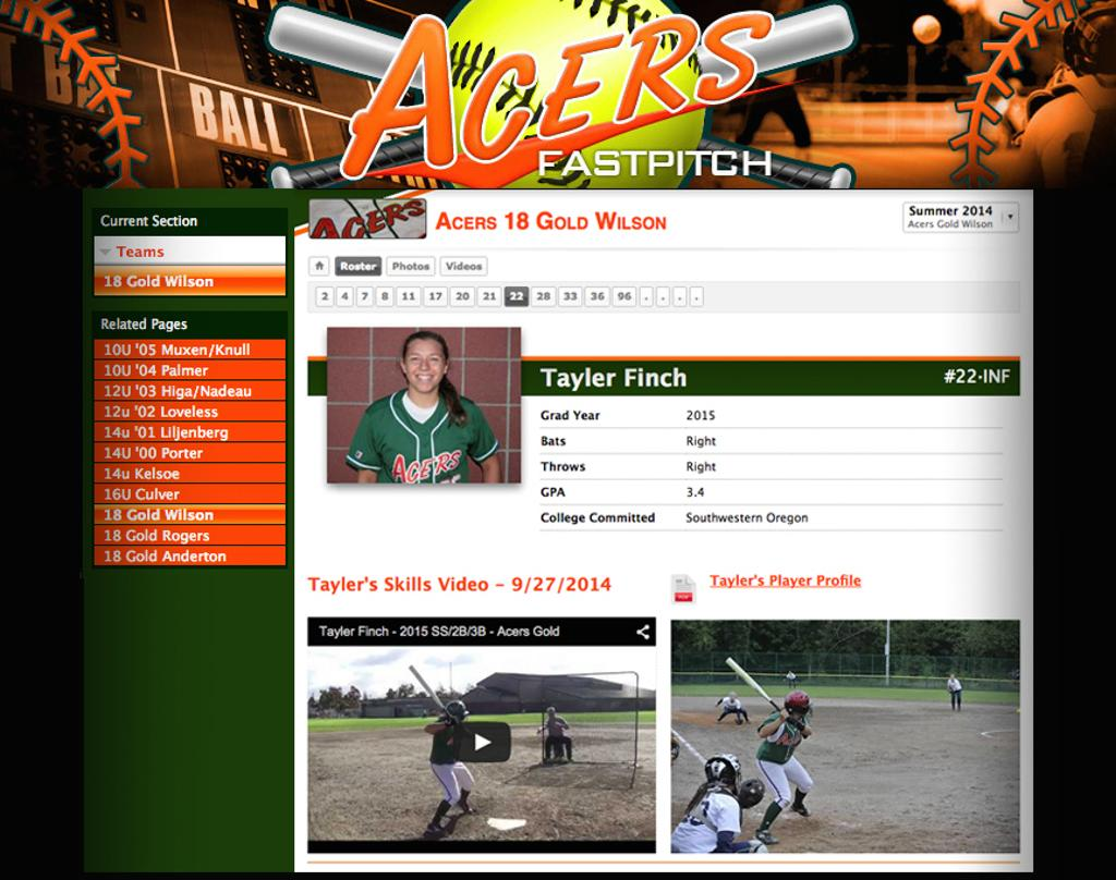 Acers Player Profile