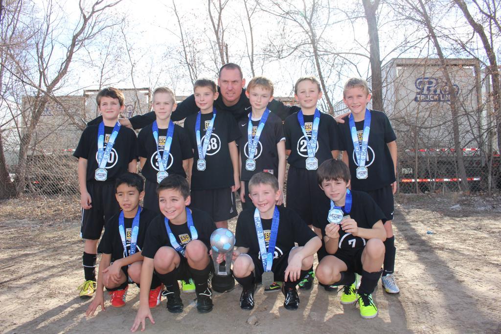 ESC Academy U10B Thunder- Finalists at Winter Magic- Kansas City 2015