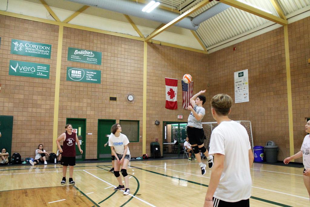 Boy Volleyball