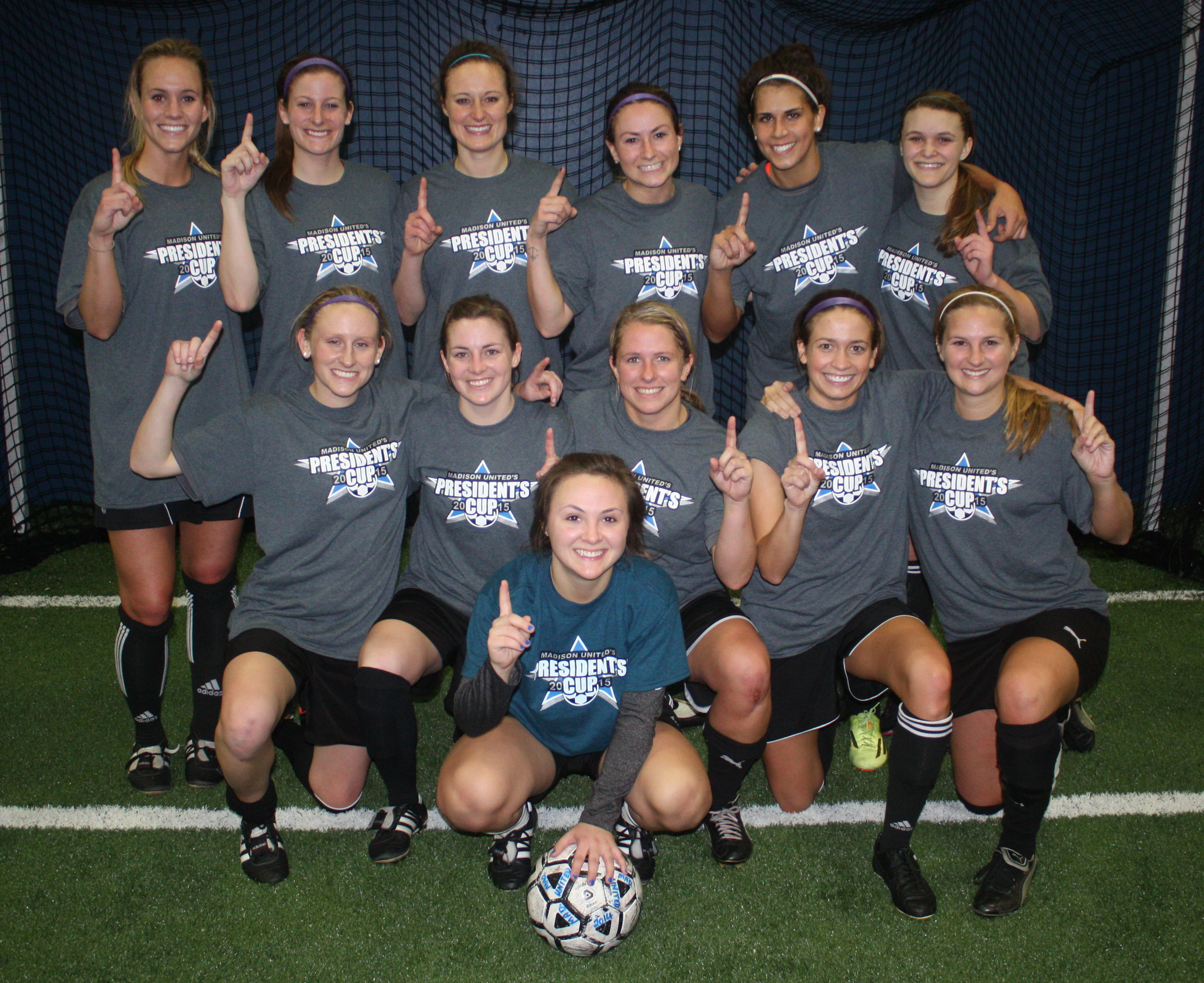 2015 President's Cup Women's Open champions: CRUSA