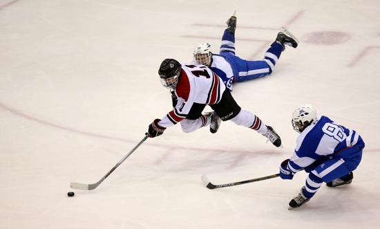 MN H.S.: Eden Prairie Clinches Return Trip To State With OT Win Over Minnetonka - Sophomore Casey Mittelstadt Wins It For Eagles
