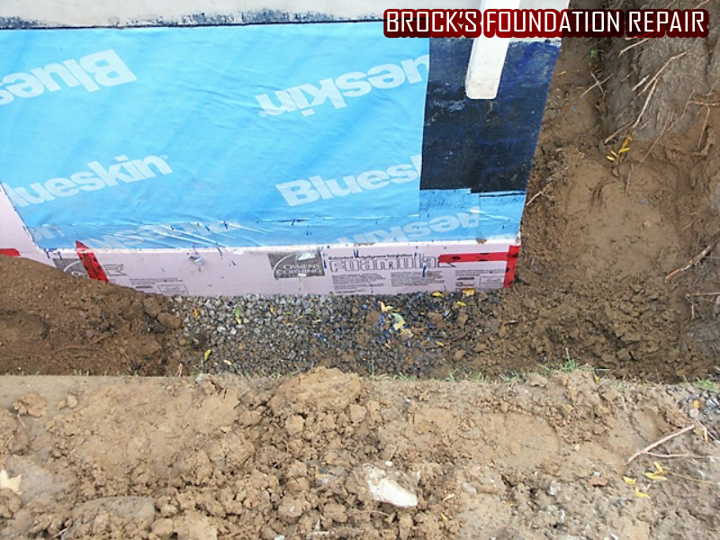 Foundation Repair by Brock's Landscape - 905.822.3131