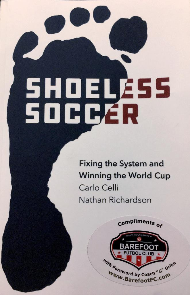 Shoeless Soccer Book on Amazon