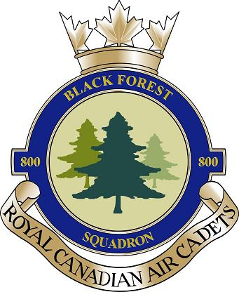 800 Black Forest Squadon Air Cadets Band