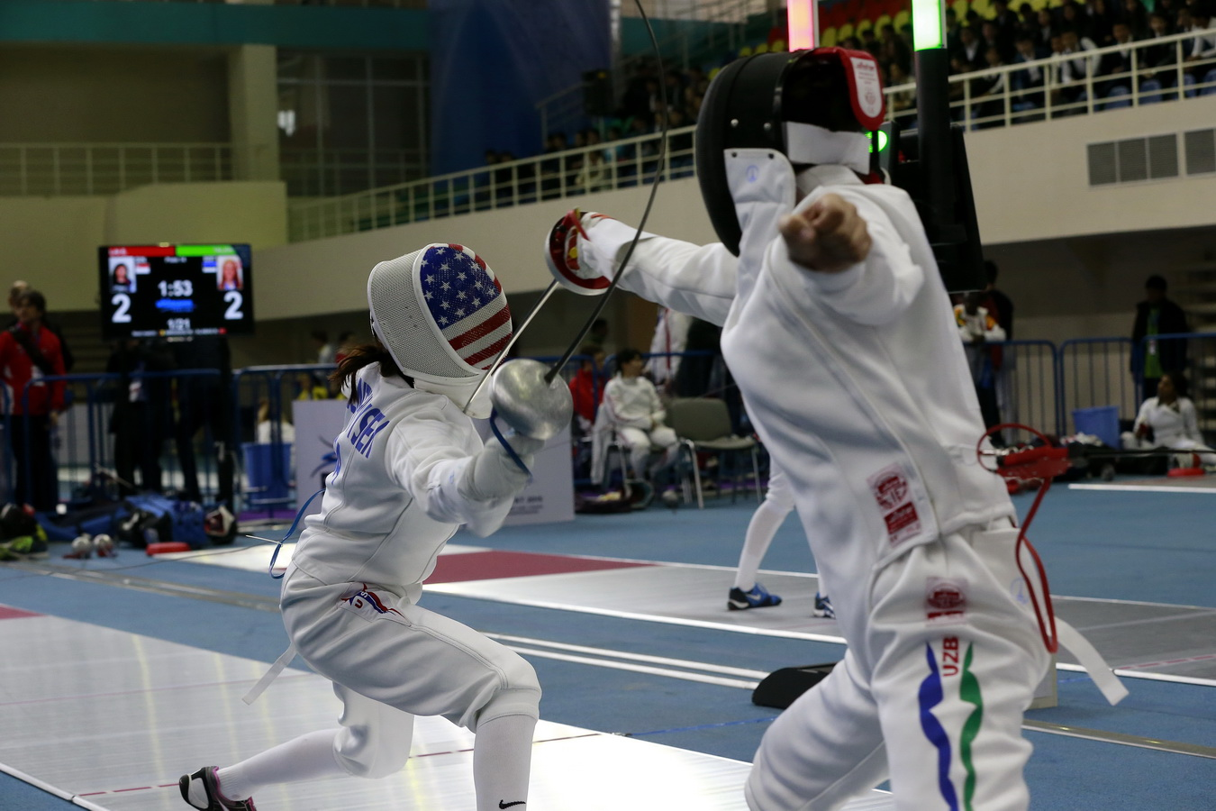 Barbara Vanbenthuysen Places Sixth On Opening Day Of Cadet