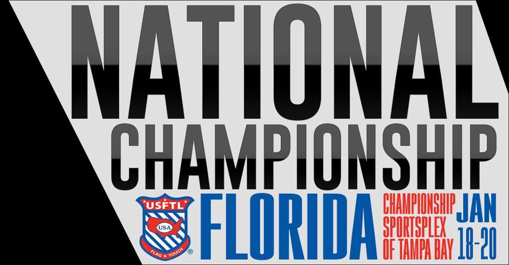 2018 USFTL National Championship Banner