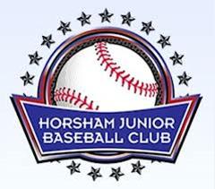 Horsham Junior Baseball Club Logo