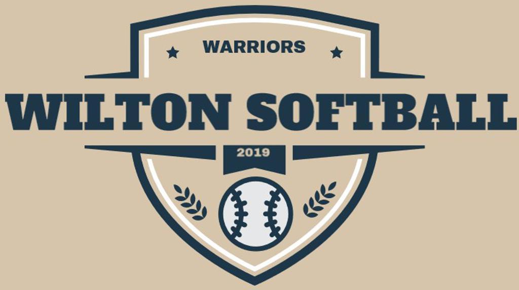 Design # 1 -  a classic softball logo