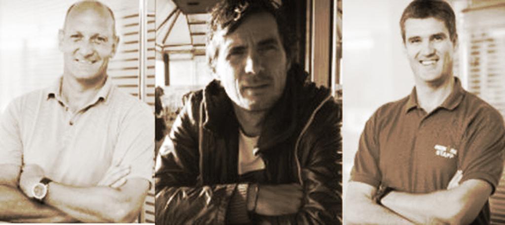 Photos of Georg Hochegger, Stefan Petschnig and Helge Lorenz