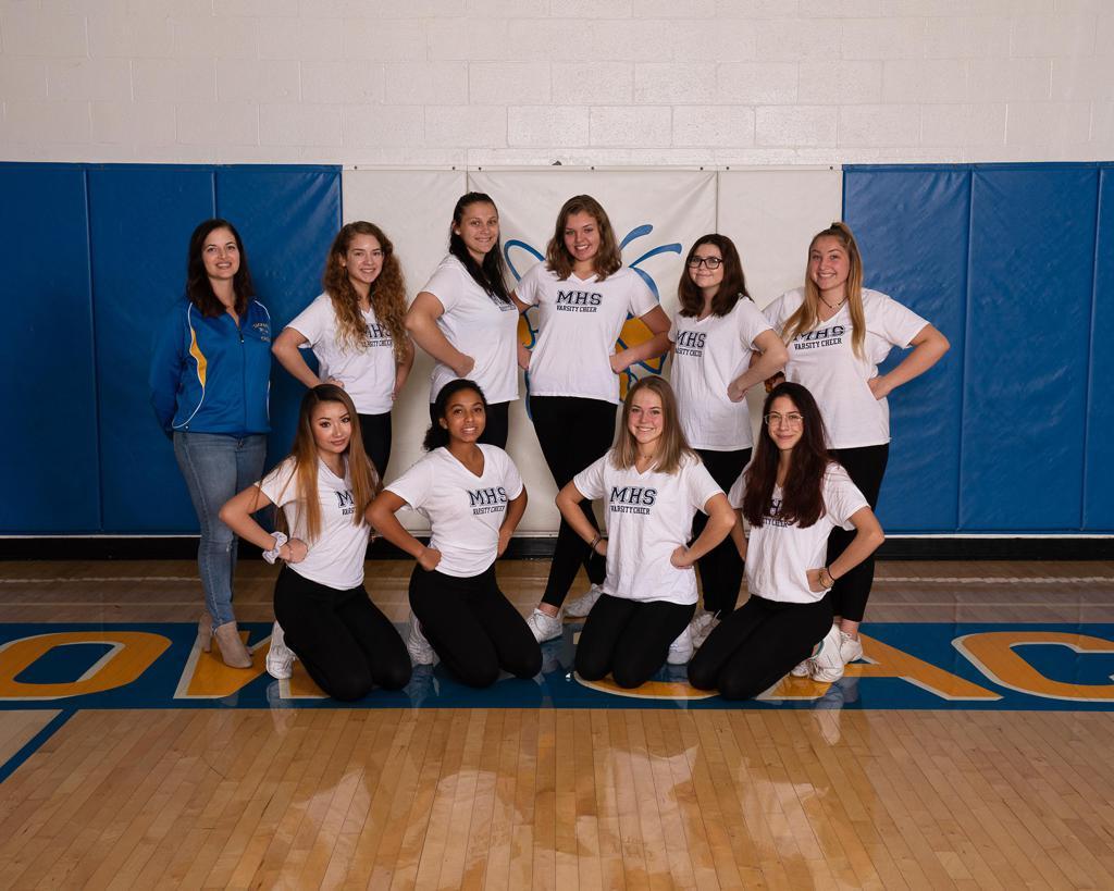 Cheer 2019-20 Group Photo