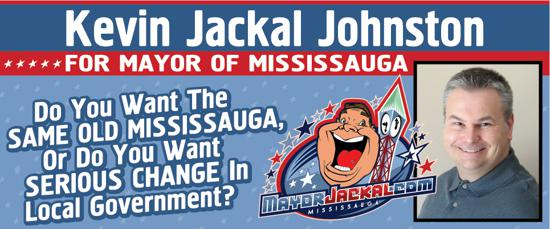 Mississauga Mayor - Mississauga Mayor Race, Kevin Jackal Johnston VS Bonnie Crombie vs Steve Mahoney - 2014 Mississauga Elections - 2018 Mississauga Mayor Race - Mississauga Elections